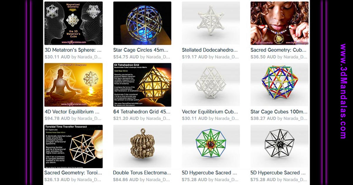 Sacred Geometry Web | Studying the Fundamental Forms ~ the Art, the