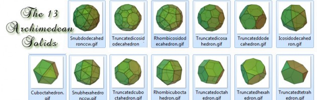 The Archimedean Solids
